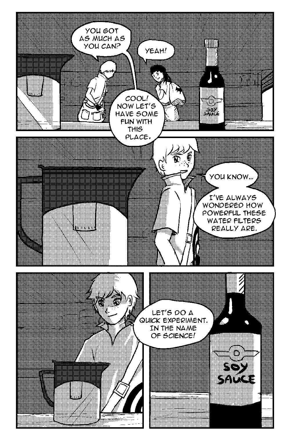Soya Sauce Saga (preview)